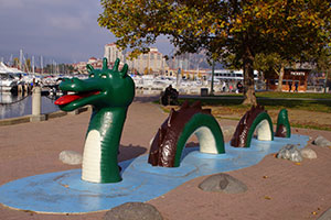 Ogopogo has been an Okanagan legend for hundreds of years.